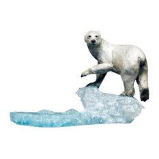 Polar Bear Bronze Sculpture Arctic Spirit