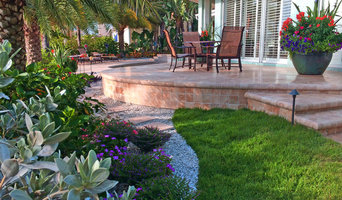 Backyard transformation features a new Travertine deck