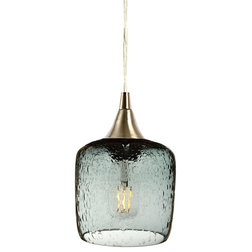 Transitional Pendant Lighting by Bicycle Glass Co.
