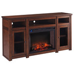 Ashley Alymere Tv Stand With Fireplace Insert Traditional