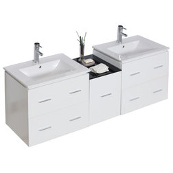 Epic Contemporary Bathroom Vanities And Sink Consoles by American Imaginations