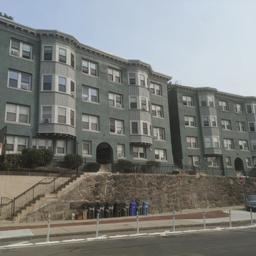 Exterior/Interior Renovations - 5 Stories Buildings at 1-3 Centre St Terrace, MA