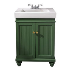 24-inch Vogue Green Sink Vanity