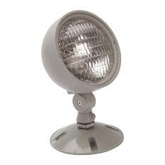 NICOR 7.2W Single Head Weatherproof Indoor Outdoor Emergency Remote Lamp Fixture