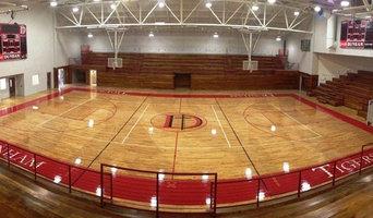New Gym Flooring for Dunham High School, Baton Rouge, LA