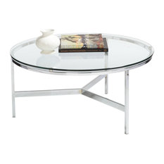 SOVO Quinlan Round Coffee Table