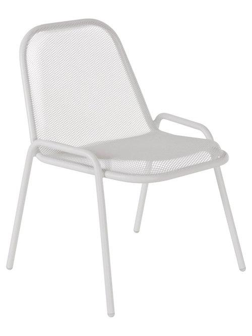 Golf Stol, Vit - Udendørs spisebordsstole
