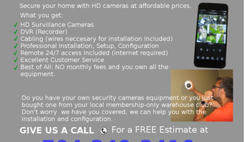 Security Cams Installation