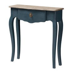 Mazarine Classic and Provincial Blue Spruce Console Table