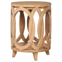 INTERLOCKING CIRCLES ACCENT TABLE
