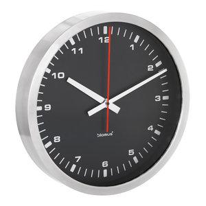Era Wall Clock, Black, Large