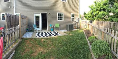 Small ordinary townhouse backyard - ideas?!