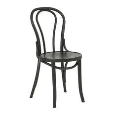Titus Bentwood Dining Chair, Black