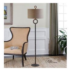 Uttermost Ferro Cast Iron Floor Lamp