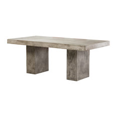 Vig Furniture Inc.   Saber Modern Concrete Dining Table   Outdoor Dining  Tables