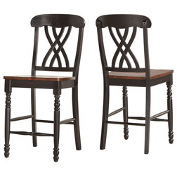 Traditional Bar Stools And Counter Stools by Inspire Q