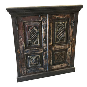 Mogul Interior - Consigned Antique Sideboard Chest Furniture TV Console Cabinets, Gothic interior - Accent Chests And Cabinets