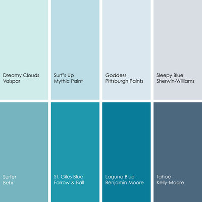 by jennifer ott design - Bedroom Colors Blue