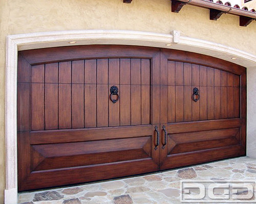 Mediterranean Revival Architectural Garage Doors | Fantastic Custom Made  Designs