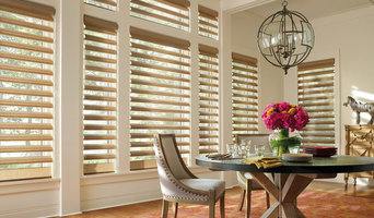 Hunter Douglas window fashions (before & after)