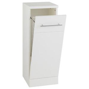 Impakt White Laundry Cabinet, 300x300 mm