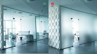 Pellicola oscurante LCD - PDLC per ufficio