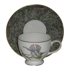 Wedgwood Humming Birds Cup & Saucer Set (Leigh Shape)