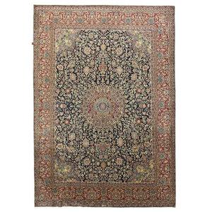 Kashmar Patina Rug Persian Carpet 11 4 Quot X8 3 Quot Hand Knotted
