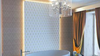 Дизайн интерьера частного дома г. Чита