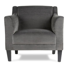 Grotto Arm Chair, Empire Charcoal