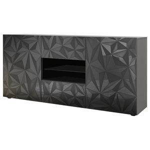 Prisma Decorative Sideboard, 181 cm, Grey