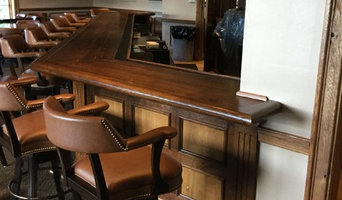 West Bay Club Niblick Bar Refinishing