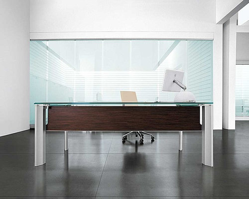 Modern Executive Office Desks @ Spacify.com