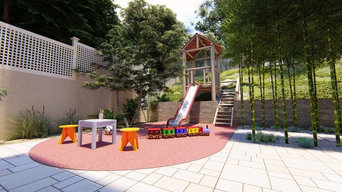 Kids & Adults Entertainment Areas | Utilizing a Steep Slope