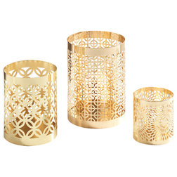 Contemporary Candleholders by Danya B.