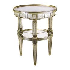 John Richard Round Eglomise Table EUR-03-0311