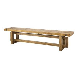 Winston Reclaimed Oak Dining Bench