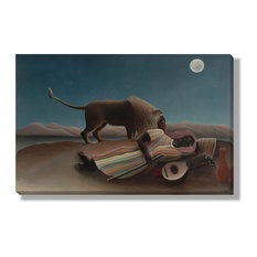 'The Sleeping Gypsy' Canvas Gallery Wrap by Henri Rousseau