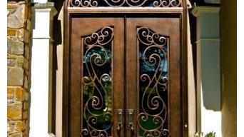 Clark Hall Iron Doors