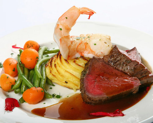Beef Tenderloin with Shrimp - Products