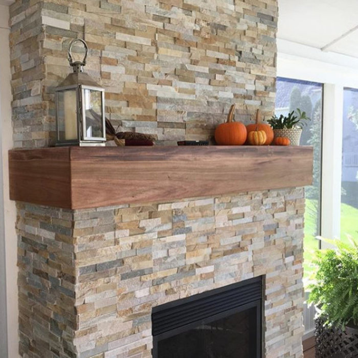 Custom Mantels and Shelving