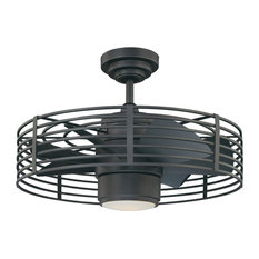 50 Most Popular Caged Modern Ceiling Fans For 2021 Houzz