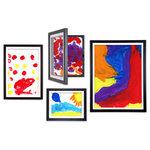 lil davinci by dynamic frames lil davinci art frames 4 piece - Dynamic Frames