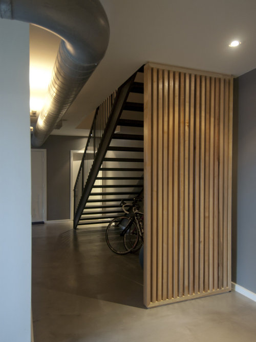 wood partition | houzz