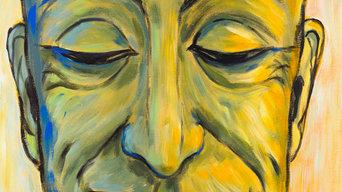 Weisheit (Lächelndes Gesicht)