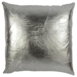 Salt on Silver Pillow, 51x51cm