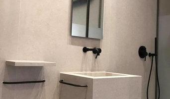 Création d'une salle de bain moderne