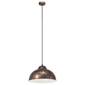 Truro Pendant Light, Copper, Large