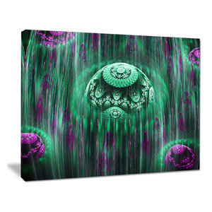 World Of Infinite Fractal Universe Oversized Abstract Canvas Art Contemporary Prints And Posters By Design Art Usa