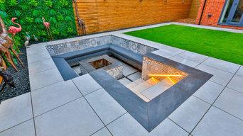 The Sunken Fire Pit & Garage Conversion Project